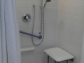 60'' x 32'' Shower Low Threshold & Fold Down Seat