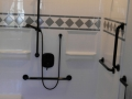 60'' x 34'' Shower w/ Built In Seat Fully Decked Out